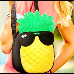 PINK PINEAPPLE COOLER BAG